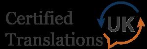 Certified Translations UK